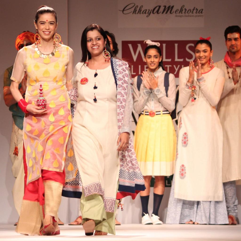 Shweta Sachani wills fashion week