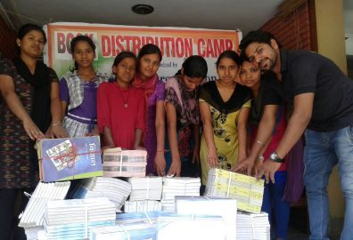 National Ngo - Books Distribution to girls