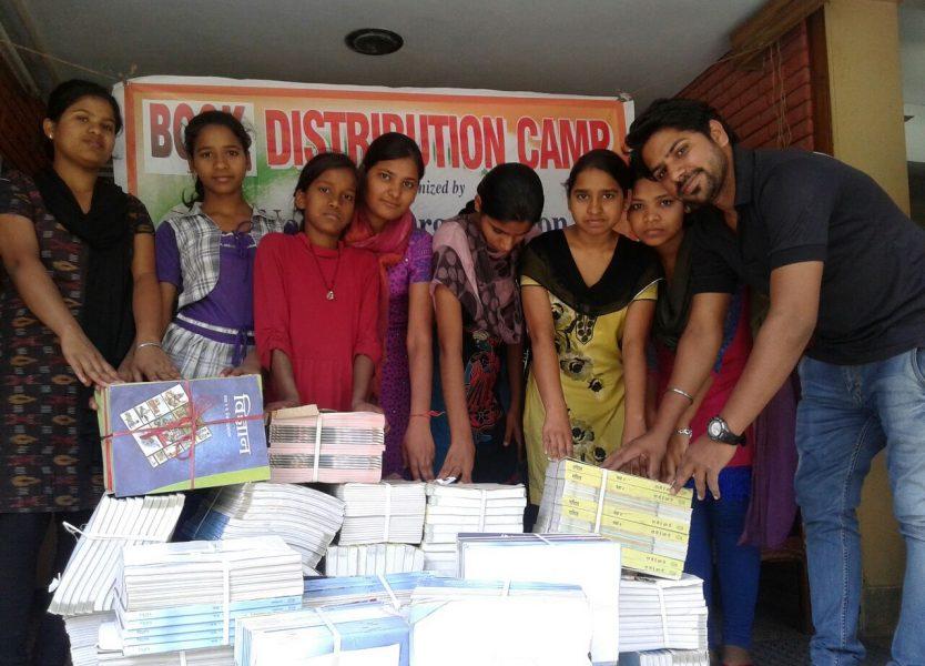 National Ngo - Books Distribution to girls