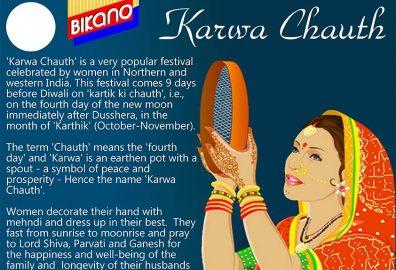 Bikano wishes a happy Karwa Chauth to men and women alike