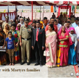 family of martyrs - nims chairman