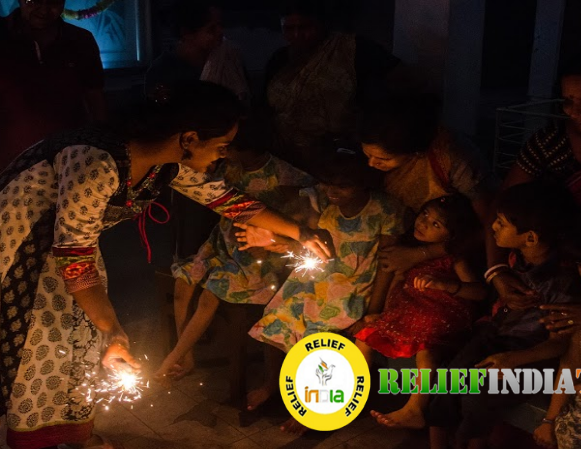 Relief India Trust requests people to light up darkened lives on this Diwali
