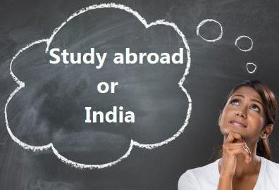 Studying abroad versus studying in India – a comparative analysis by Rudraksh Group