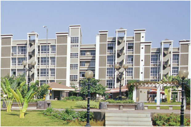 Relish an intelligent living at sought after location at 'Silver Spring West'