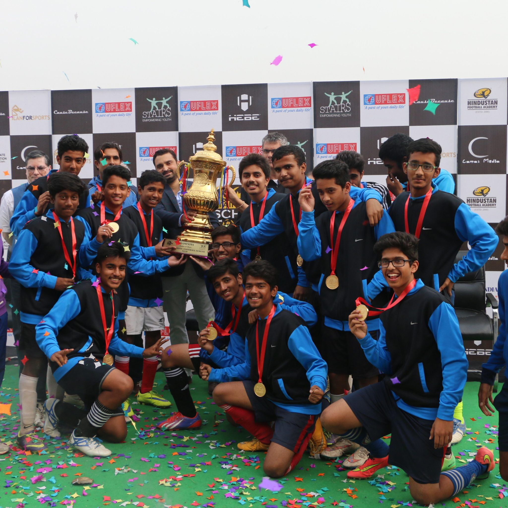 Uflex, the packaging  industry of India, is figured for its Corporate Social Responsibility activities and as of late in news is the organization's sponsorship of the Stairs School Football League (SSFL) Delhi – Season