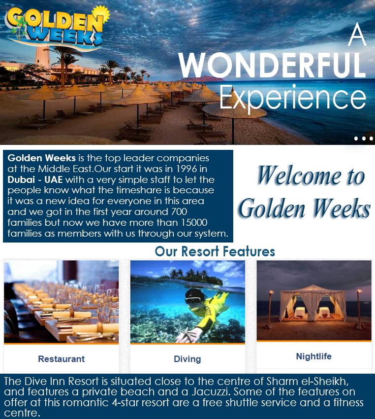 Golden Weeks Dubai UAE