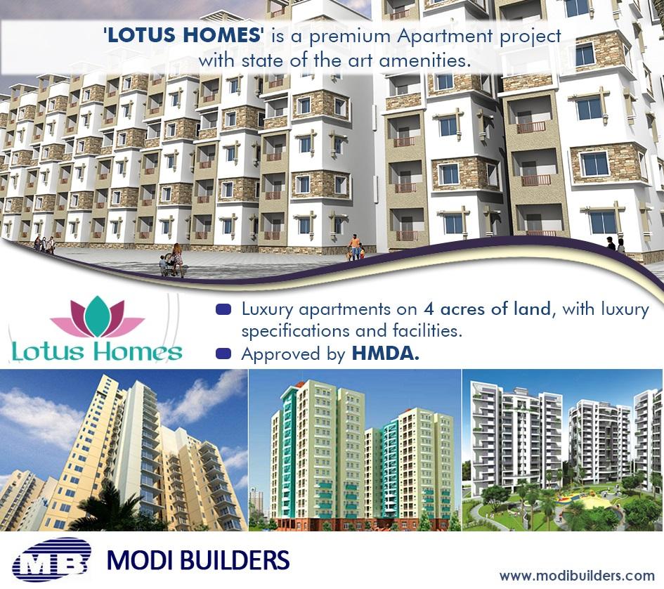 Modi Builders Lotus Homes