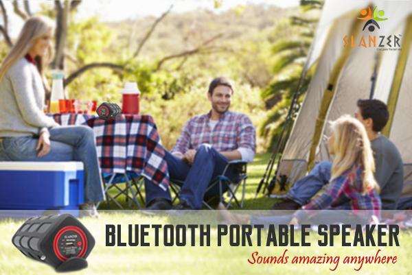 Slanzer presents wide range of Wireless Bluetooth Speakers