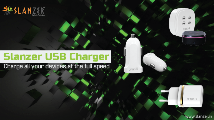 Dual USB Travel chargers by Slanzer Technology – convenience optimized