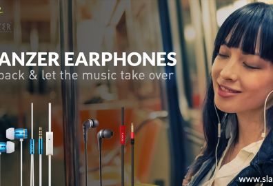 Slanzer Technology offers a wide range of strikingly attractive and stylish Earphones