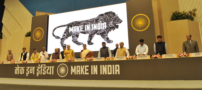Pawan kumar Dhoot promotes Make In India