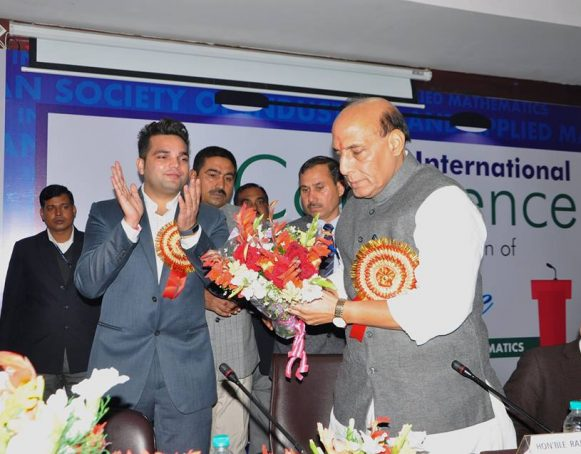 It recently conducted a 3 day long National seminar at Sharda University Noida. This seminar saw Home Minister of India Mr. Rajnath Singh as the chief guest.