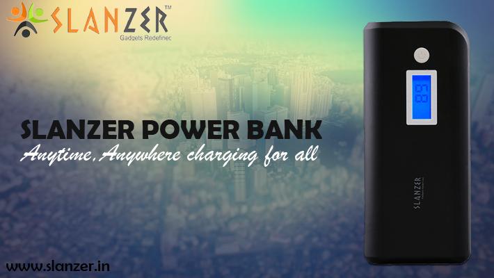 Slanzer Power Banks trending in the gadget market