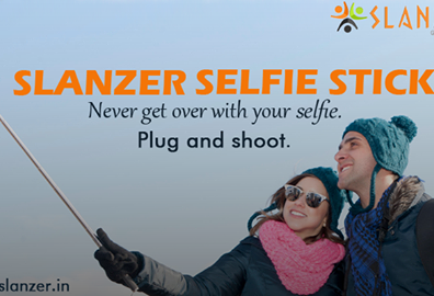 Slanzer Technology offers Selfie Sticks for a hassle-free picture clicking experience