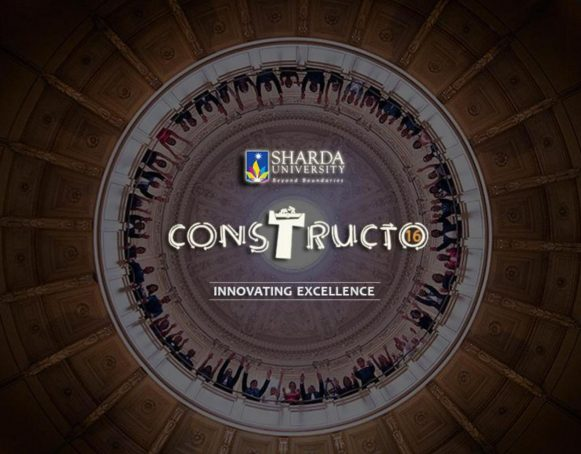 Sharda University, Civil Engineering Dept. recently organized a National Level Tech Fest CONSTRUCTO'16.