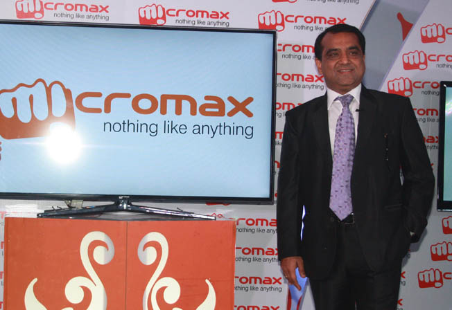 Micromax Co-founder rajesh Agarwal, micromax MD rajesh agarwal