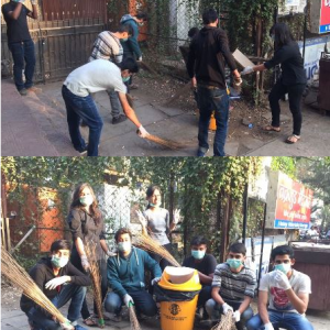 New Law College, Bharati Vidyapeeth, Cleanliness
