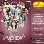 Haldirams, Haldirams Nagpur, Haldirams Nagpur Reviews, Haldirams Contest, Noor With Haldirams, Noor Movie Contest