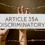 Sanjay Dalmia on Article 35A