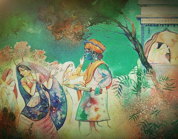 Mythological significance behind holi