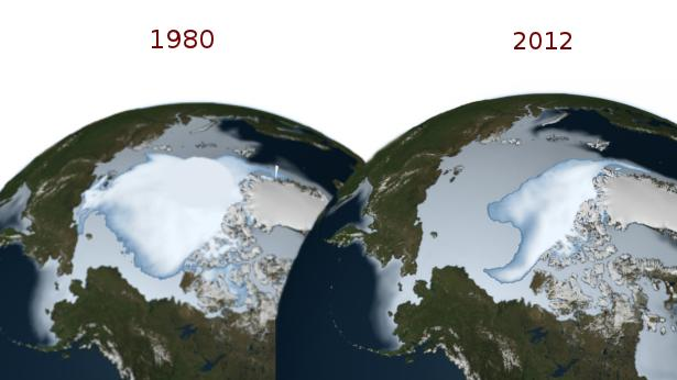 global warming and ice melt