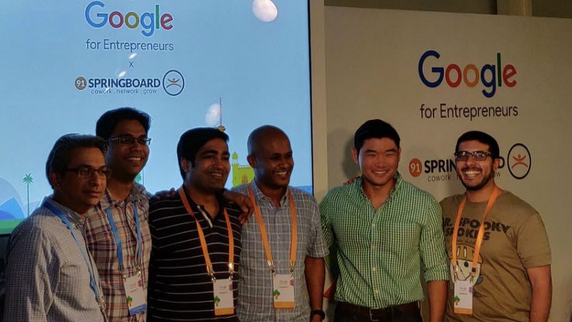 Google partners with 91 Springboard