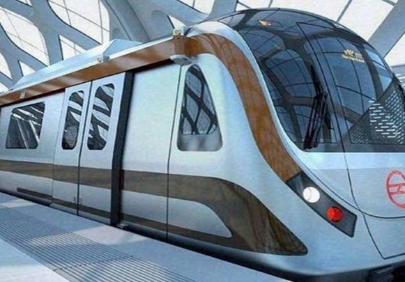 first engine-less train