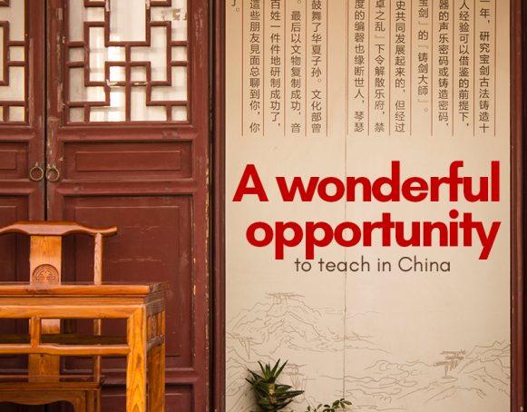 Making teaching in China fun