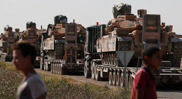 Turkey's military aggression against Syria