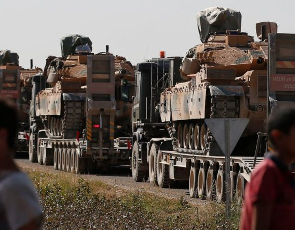 Turkey's military aggression against Syria