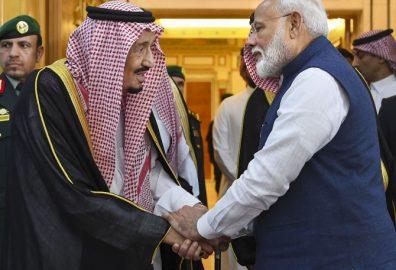PM Modi in Saudi Arabia
