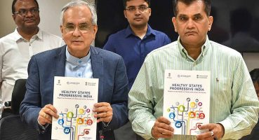 developmental model unveiled by Niiti Aayog VC Rajiv Kumar
