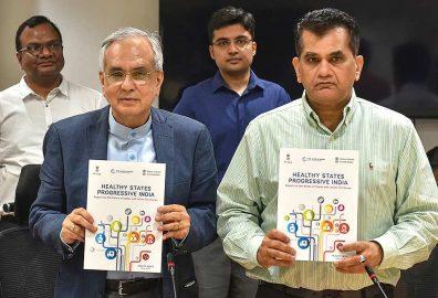 developmental model unveiled by Niiti Aayog VC Rajiv Kumar