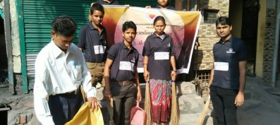 National NGO promotes Cleanliness in Tughlakabad
