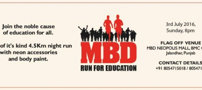 'MBD Run' creates awareness on 'Education for all'
