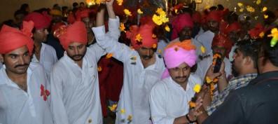 Vikram Singh Puar carries forward the centuries-old tradition of Dindi Yatra on Janmashtami