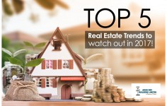 Top 5 Real Estate Trends to watch out in 2017!