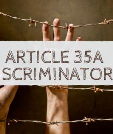Sanjay Dalmia calls Article 35A 'Discriminatory'
