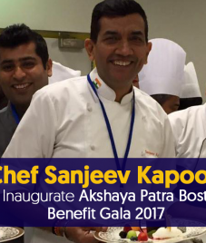 Chef Sanjeev Kapoor To Inaugurate Akshaya Patra Boston Benefit Gala 2017.