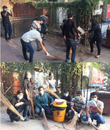 Bharati Vidyapeeth Leo Club Take the Charge of Cleanliness: Drive Conducted in Pune