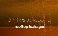 DIY Tips To Repair The Rooftop Leakages