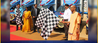 Franklin Templeton donates 5 Vehicles to Akshaya Patra.