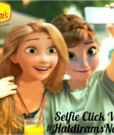 Haldiram's organizes Selfie contest, win by posting selfies with their food products