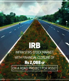 IRB Infra adds yet another feather to its cap with financial closure of Rs 2,088 cr on a road project