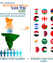 International Youth day, a festivity brighter than Diwali