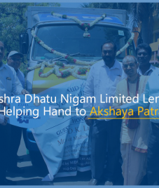 Mishra Dhatu Nigam Limited Lends a Helping Hand to Akshaya Patra