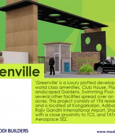 Greenville by Modi Builders- Redefining a luxurious way of living