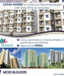 Modi Builders Lotus Homes review