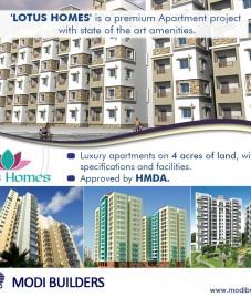 Modi Builders Lotus Homes review