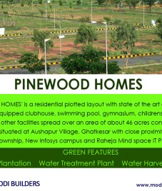 Pinewood Homes – An ideal residential project by Modi Builders